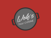 Wok's Thai Cuisine Logo