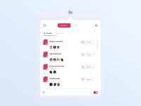 invision studio MacOs - Widget Concept