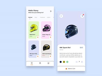 Helmet Product Page design system design art user interface design inspiration design creative  design ux web webdesign app creative app uidesign ui app ui