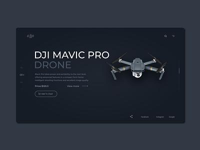 Landing Page Drone App graphic design illustration design design inspiration creative app webdesign app uidesign ui app ui