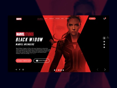 Movie Landing Page illustration design creative app design inspiration webdesign app uidesign ui app ui