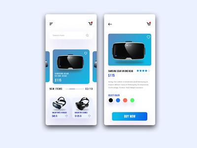 Virtual Reality Product App app design web design ui inspiration design inspiration user experience uix ux webdesign app creative app uidesign ui app ui