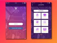 Lovepik App Ui Design