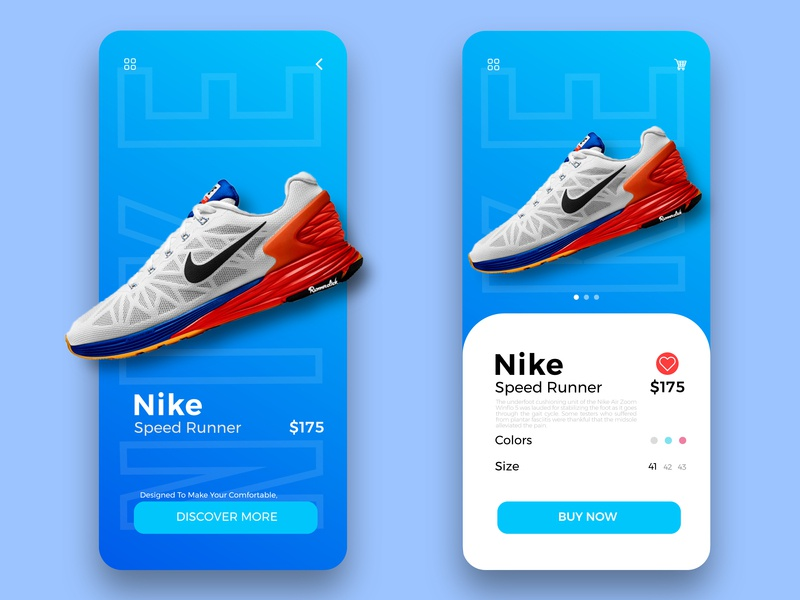 Shoes Product Page app ux creative  design webdesign web uidesign ui ui app creative app design inspiration
