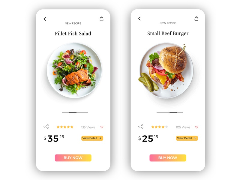 Food App Product Page icon food healthyfood branding design design inspiration creative  design ux app webdesign web creative app uidesign ui app ui