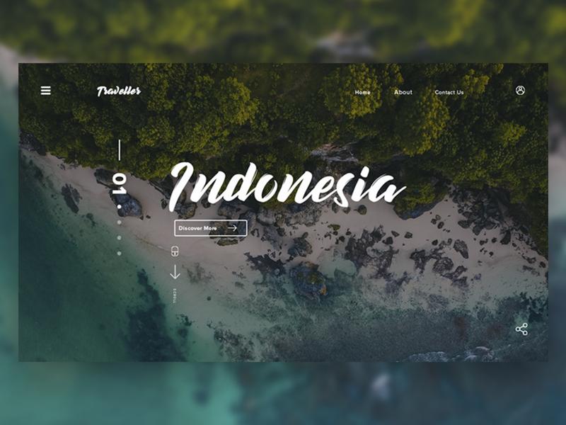 Travel Landing Page design inspiration ux app creative  design webdesign web creative app uidesign ui app ui