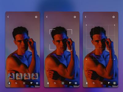iOS Camera app concept