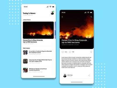 News App Ui Design