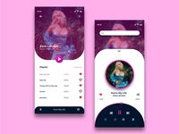Music player Iphone XS Concept
