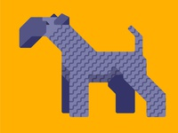 Kerry Blue Terrier (Dogeometry series)