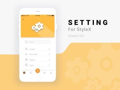 Setting StyleX