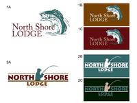 Northshore Lodge logo render