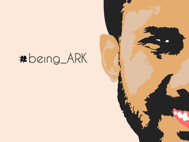 Being Ark try face ark vector tough rough illustration graphics graphics design design
