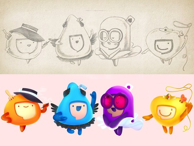 Mascots for Women's Day