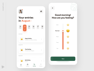 Self-care Mobile App Design clinic mobile ui medicines medical app medical hospital physiotherapy animation mobile ui ux therapy patient doctor app medicine help healthcare health doctor