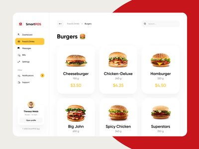 Point of Sale System App Design menu payment tablet point of sales dashboad product orders checkout food app pos system pos point of sale mobile app animation web design app design ux ui mvp app