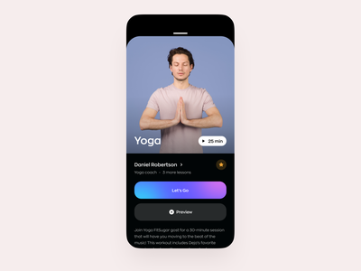 PopSugar Fitness App Concept fitness app mobile ui mvp ui ux trainer strenght running video yoga workout load icons gym graphics fitness exercise ronas it mobile app design app