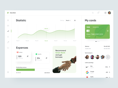 Banking App Dashboard ronas it mvp ui ux dashboard design dashboard ui webdesign website web finance fintech banking bank finances finance app financial app fintech app bank app banking app