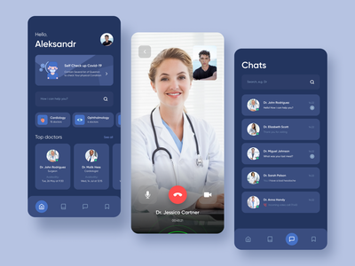 MDlive - Health Care App Redesign calendar ios app chat health app mobile app mobile ui health healthcare doctor ui  ux ios medical product design patient ronas it ui ux medicine minimal schedule