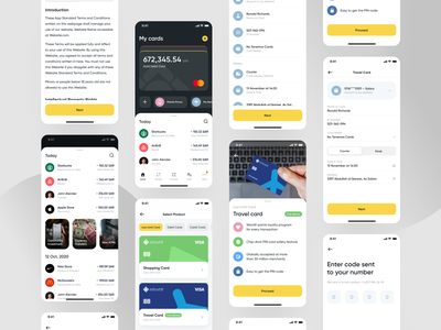 The Saudi Investment Bank Mobile App - All Screens stories investing code sign up product transaction history payment card investment finance banking mobile app design mobile app app mvp ronas it ui ux