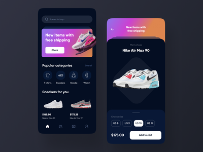 E-Commerce Mobile App mvp ronas it ui ux mobile app design app design mobile app mobile ui app mobile design ecommerce e-comerce e-commerce e-commerce app e-commerce shop e-commerce design