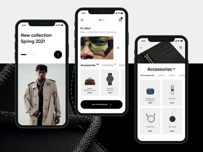 E-commerce Mobile App app design mobile app mvp ux ui ronas it ecommerce app shopping app mobile ui app mobile app design mobile design e-comerce e-commerce e-commerce app e-commerce shop e-commerce design fashion fashion app