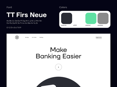 Online Banking App Landing Page Animation neobank mobile banking banking app product page credit card hero section fintech financial website finance online banking fintech website animation fintech landing bank card landing banking neobank landing ui ux