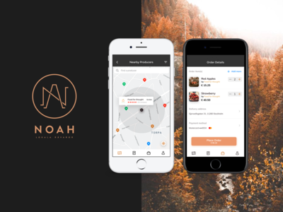 Fresh food marketplace   iOS App