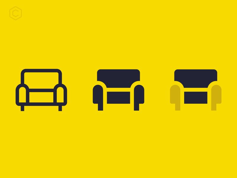Core UI Duotone - Coach pictogram coach icons coreui yellow ui icon