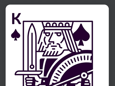 King of Spades royal illustration poker playing spades king cards