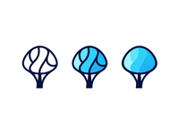 Bluetree - logotype concepts