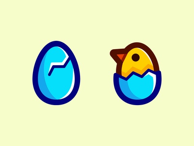 Easter Hatching Icon Pack