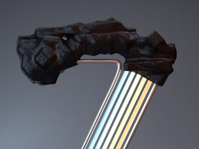 36daysoftype - Zpectrum Z Detail
