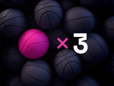Dribbble Invites × 3 🏀 gimme givetittome draft invites invite ball balls dribbble ball dribbble