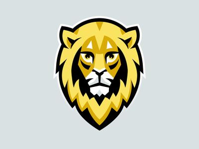 Lwy (Lions) E-Sport Team Mascot Logotype