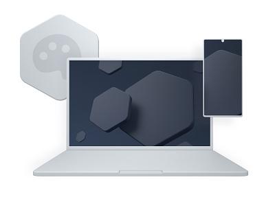 CoreUI Logo design html bootstrap vue react angular redesign core coreui logo icon