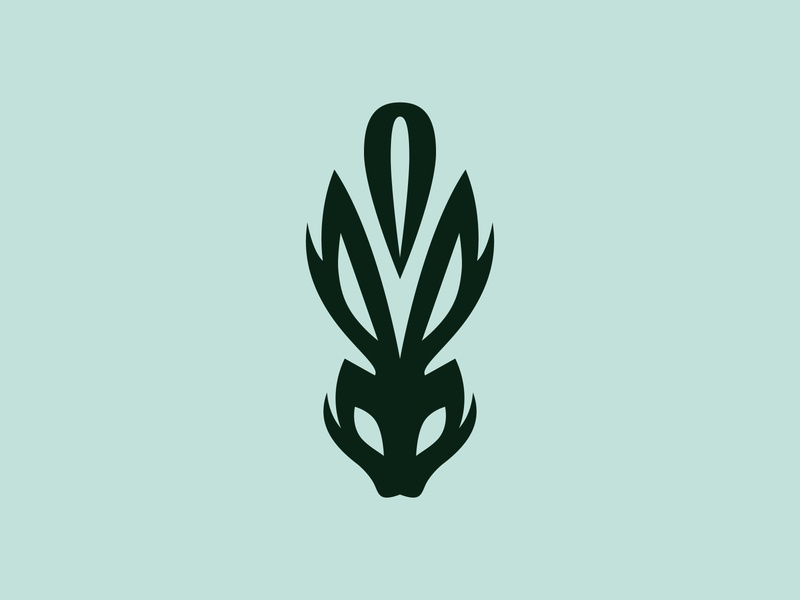 Hole - WIP typography liquor icon logo design logotype logo hare rabbit hole