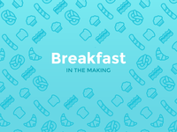 Breakfast Pattern Freebie