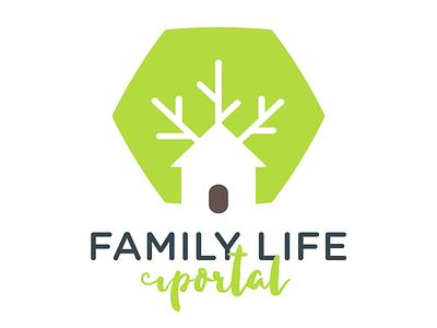 Family Life Portal Outtakes #1 vector logo branding tree life family portal