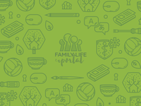 Family Life Wallpaper