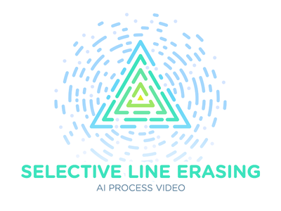 (AI) Selective Line/Stroke Erasing – Process Video lines stroke video tutorial process illustrator ai vector illustration geometry