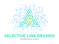 (AI) Selective Line/Stroke Erasing – Process Video