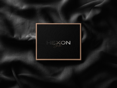 Hexon studio | Invitation Card branding modern illustration clean concept typography card invitation card invitation luxery chic logo design hexon studio hexon
