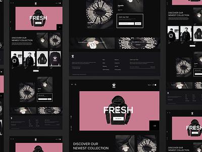 BLACKSHEEP | WebDesign adobe xd webdesign ux ui clean modern typography design concept