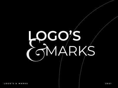 Logo&marks | logofolio v1 animation motion graphics graphic design simpel clean vector illustration logo design branding logo modern typography design concept