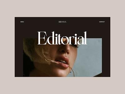 Ridana |  Portfolio web animation portfolio menu interface graphic design motion graphics ux animation vector ui logo design branding modern typography design concept