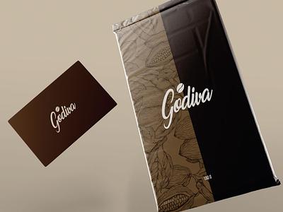 Godiva | package design concept chic branding modern logo design modern design clean modern art package package design