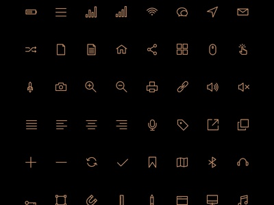 Free 80 Crispy Icons in PSD, AI, SVG & Webfont icon pack shop psd icons vector icons icon font png jpg svg service icons minimal clean web design ico icons interface ux ui user interface user experience shop store ecommerce
