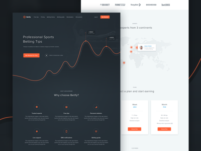 Betify Landing Page