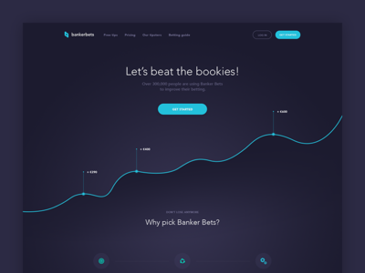 Banker Bets Landing Page